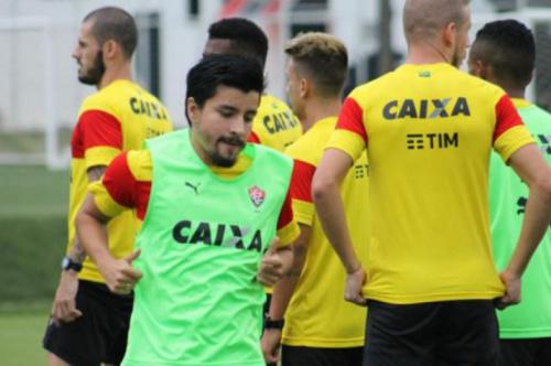 Vitória inicia preparação para duelo contra o Corinthians