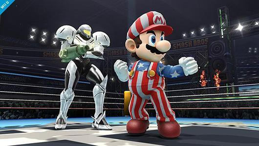 Mario dons the stars and stripes for Smash Bros. alternate