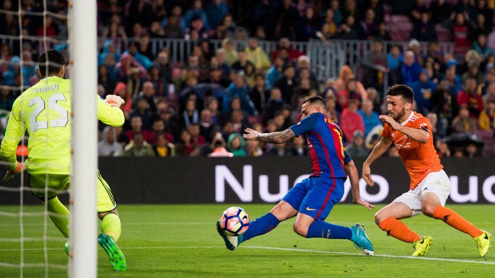 """Alcácer: """"Messi es un jugador único, pocos pueden decir que han jugado con él"""""""