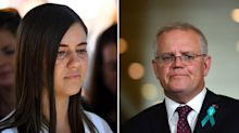 Brittany Higgins calls out 'disappointing' prime minister