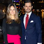 Princess Sofia and Prince Carl Philip of Sweden Test Positive for Coronavirus