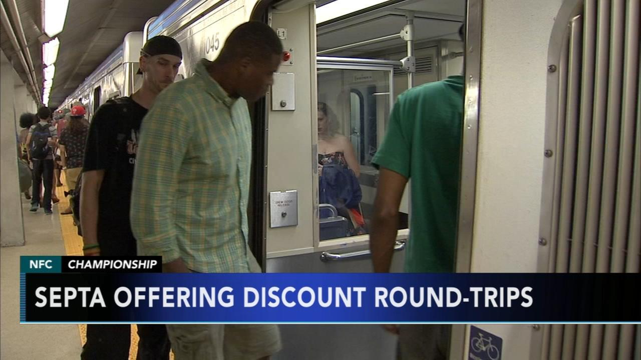 SEPTA offering Eagles NFC Championship game discounts