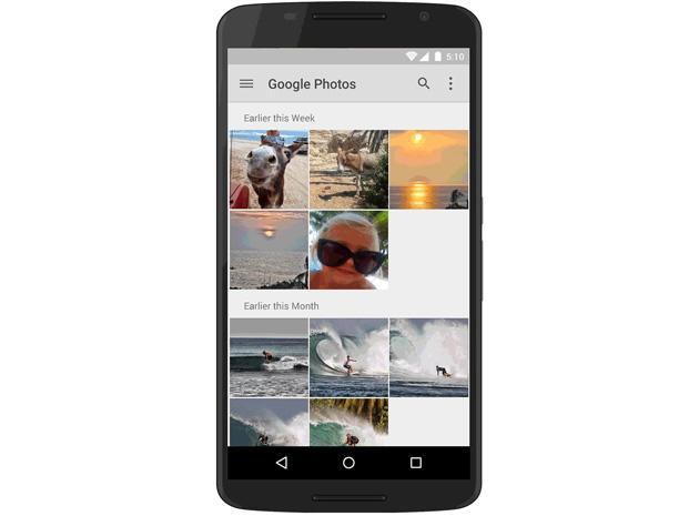 Google Drive offers access to your Google+ photos