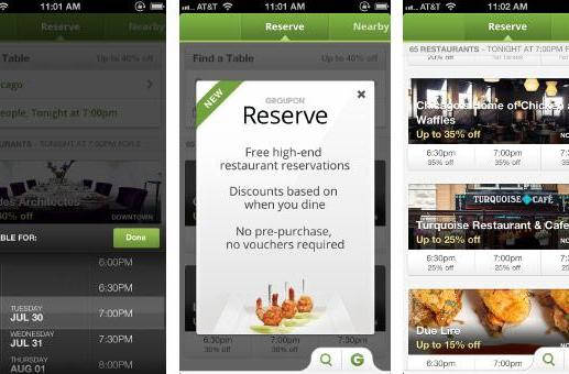 Groupon Reserve discounted reservations service comes to iOS