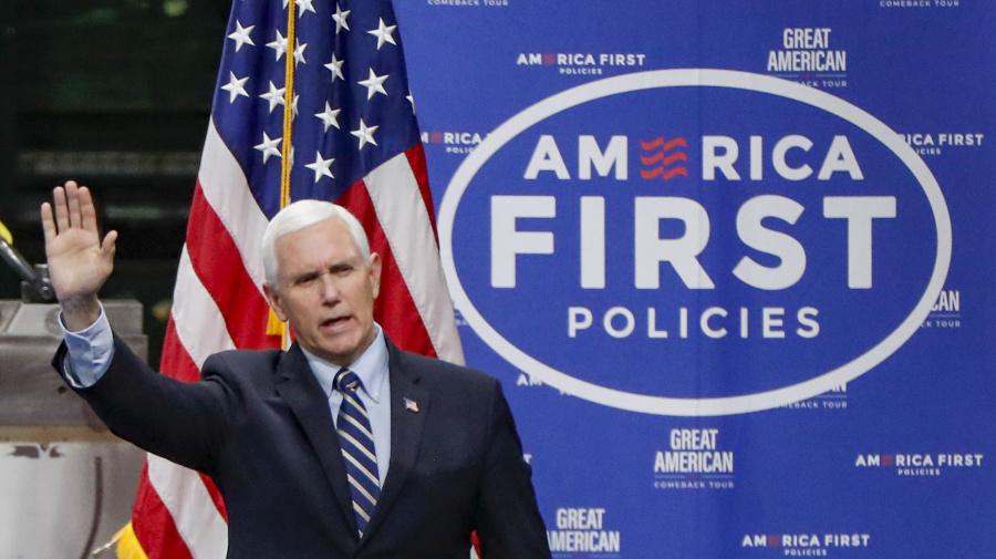 'People aren't stupid': Pence's spin tests credibility