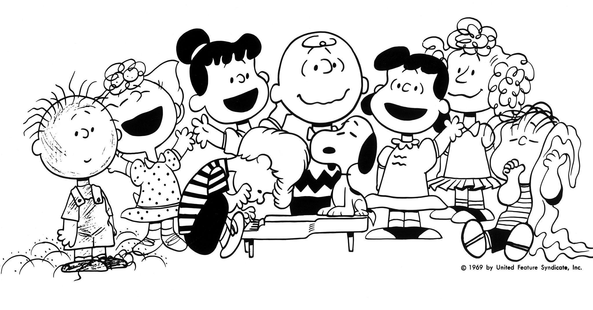 Peanuts Gang Clip Art