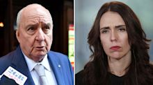Alan Jones writes letter to Jacinda Ardern after 'misogynistic rant'