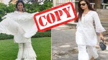 Hina Khan Copied Malaika Arora