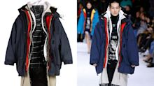 Balenciaga mocked online for selling £6,000 seven-layer coat