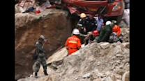 Crushing quake strikes China