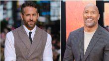 Ryan Reynolds Trolled The Rock For Tearing Down A Metal Gate With His Literal Hands
