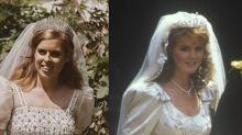 Princess Beatrice's Wedding Dress Pays Tribute to Her Mom Sarah Ferguson's Bridal Look