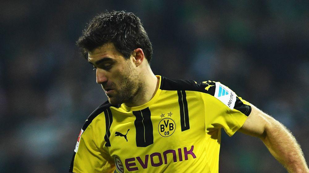 Dortmund bangt vor Pokal-Halbfinale in München um Sokratis