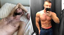 Instagram bodybuilder shares incredible before and after photos following shock diagnosis