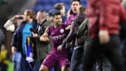 Aguero lashes out at fan after Wigan stun Man City