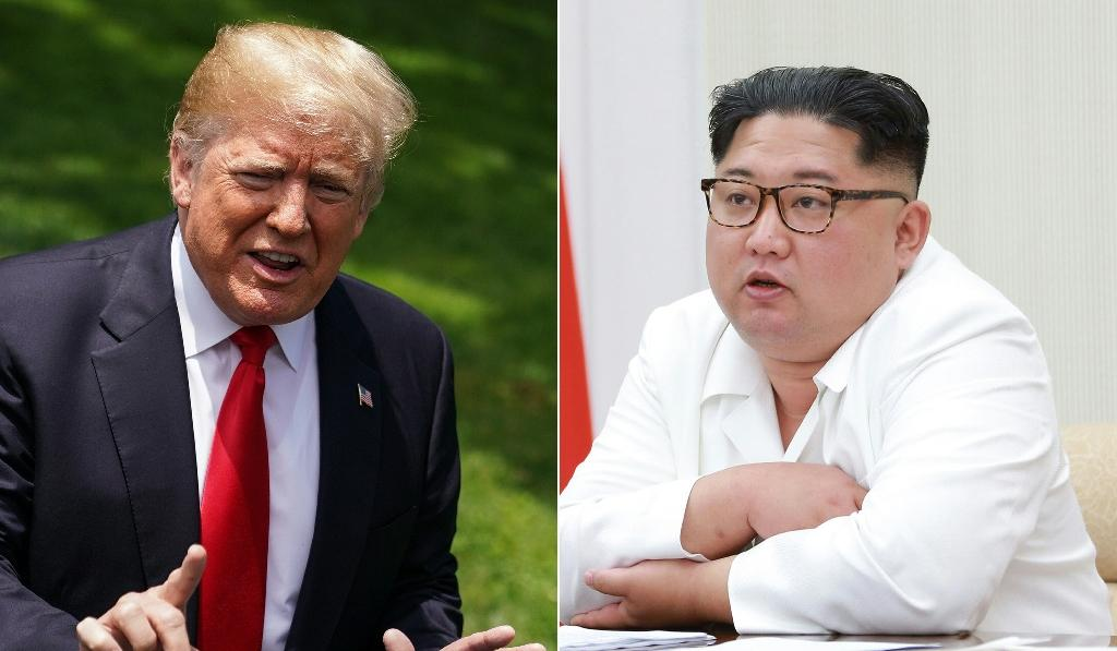 Kim Jong Un and Donald Trump meet on Tuesday for an unprecedented summit in an attempt to address the last festering legacy of the Cold War (AFP Photo/Mandel NGAN, -)