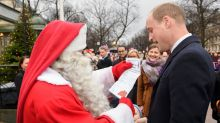 Prince William Hand Delivers Prince George's Christmas Wish List to Santa Claus -- Find Out What He Asked for!