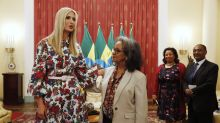 Ivanka Trump wears $1,655 floral dress during Ethiopia trip — where her visit to textile center sparks 'sweatshops' jabs