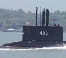 Missing Indonesian submarine has 72 hours of oxygen left, navy says