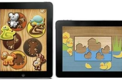 What happens in a toddler's brain when they use an iPad