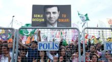 Turkey's jailed pro-Kurdish candidate in first TV appearance for 20 months