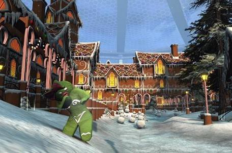 Star Trek Online creates a gingerbread colony for the holidays