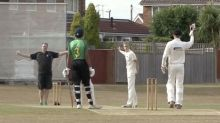 Umpire changes his decision four times in seconds