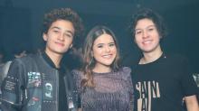 Maisa comemora encontro com os 'dois namorados'