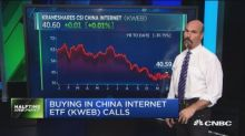 Bulls bet on one ETF that tracks Chinese internet compani...