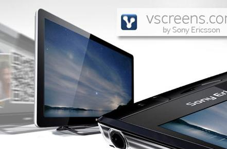 Show off your smartphone photog skills with Sony Ericsson's vscreens