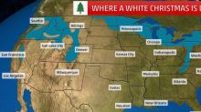 These Are the States Getting a White Christmas This Year