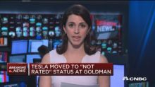 Goldman Sachs moves Tesla to 'not rated' status while act...