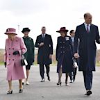 Queen steps out with Prince William for first engagement since March