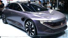 拜騰的第二款產品是一輛預計在 2021 年發售的自駕電動轎車