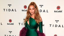 Beyonce makes first post-pregnancy red carpet appearance at TIDAL concert