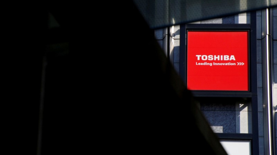 Toshiba says SEC completes accounting probe, no penalty