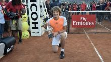 'You can't think of them as legends' says Zverev talking about playing Roger Federer and Novak Djokovic