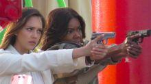 Jessica Alba y Gabrielle Union en la primera foto del spin off de bad Boys