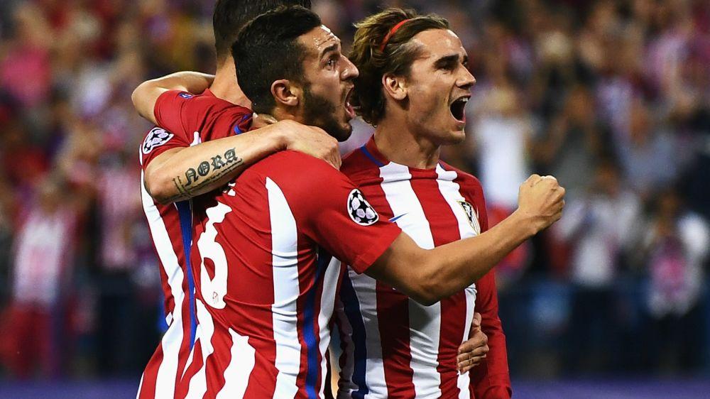Los jugadores del Atlético ya 'preparan' la vuelta ante el Real Madrid