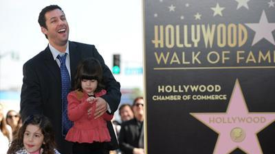 Adam Sandler Nabs A Star On The Hollywood Walk Of Fame