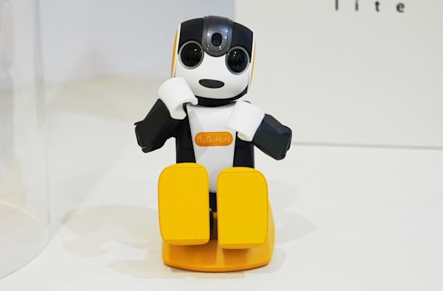 Sharp's latest RoBoHon robot can't walk, but hey it's only $715
