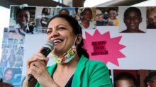 Progressive congresswoman Rashida Tlaib defeats primary challenger in 'Squad' win