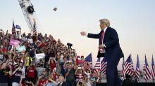Trumps Rückkehr auf die Wahlkampfbühne