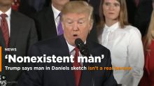 Trump says Stormy Daniels sketch is of a 'nonexistent man'