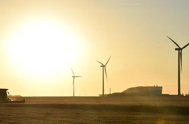 Alphabet is using salt and antifreeze to store power from wind farms