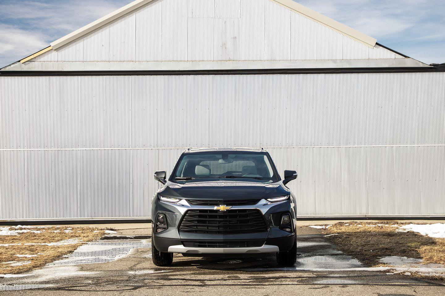"<p>While we appreciate that <a href=""https://www.caranddriver.com/reviews/a26113708/2019-chevrolet-blazer-by-the-numbers/"" rel=""nofollow noopener"" target=""_blank"" data-ylk=""slk:the Blazer's top-tier RS model"" class=""link rapid-noclick-resp"">the Blazer's top-tier RS model</a> has sporty upgrades and that the top-of-the-line Premier trim has desirable features, they're not the greatest value. The base model starts at $29,995, and the next-level 2.5L Cloth (seen here) kicks off at $33,495. However, the as-tested price is $35,340.</p>"