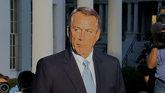 Boehner: Obama 'Will Not Negotiate'