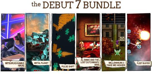 Indie Royale Debut 7 bundle includes six games