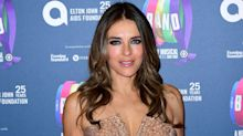 Elizabeth Hurley braves the cold in risque Instagram snap