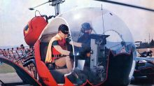 Holy nostalgia, Batman! Here's how you can take a ride in Adam West's Batcopter